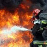 На улице Матросская Тишина сильный пожар тушили почти сто спасателей