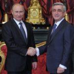 Состоялась официальная встреча глав Армении и России