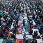 Ограничение движения на улицах столицы – мусульмане празднуют Курбан-байрам