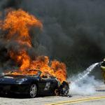 Несовершеннолетний водитель Ferrari спровоцировал ДТП в центре столицы