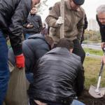 Собянин принял участие в озеленении Каширки и высказался о результатах ее реконструкции