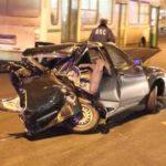Два человека погибли в страшной ночной аварии на Кутузовском