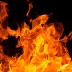 В пожаре на Ореховом бульваре пострадали люди