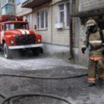 В столице произошел пожар, есть пострадавшие