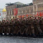 В Москве на Красной площади в 13–й раз прошёл торжественный марш, посвящённый параду 1941-го года