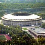 На обновленном стадионе «Лужники» начался монтаж покрытия трибун