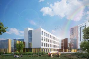 Инновационная школа №2070 на территории жилого комплекса Новая Звезда