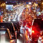Скорость движения на основных магистралях столицы выросла на 3км/ч