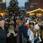 С.Собянин открыл крупнейший фестиваль «Путешествие в Рождество»