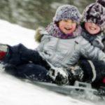 Парк Победы приглашает покататься с 10-метровой ледяной горки, открытие 31 декабря!