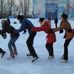 С 22 декабря ледовые катки столицы временно закрыты из-за аномальных погодных условий