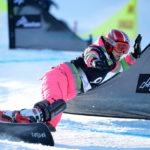 Москвичка Е. Тудегешева — первая на этапе и в основном зачете Кубка мира по сноуборду
