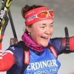 Екатерина Юрлова принесла российской биатлонной сборной второе золото подряд