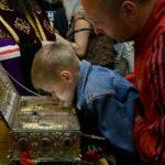 2 марта в храме Лефортова выставят святыню — частицу Хитона Господня