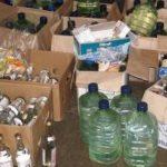 Контрафактный алкоголь стоимостью более 8 млн рублей был найден на подмосковных складах