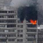 Пожар в Бирюлево: обезумевший от огня мужчина спрыгнул с 11 этажа