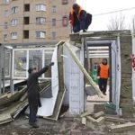 В Москве снесли почти сто незаконно возведенных «самостроев»