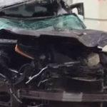 Авариая на Страстном бульваре: машина сбила насмерть пешехода и врезалась в дом