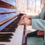 На территории парка «Сокольники» появились два пианино для всех