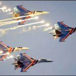 Пилотажной группе «Русские Витязи» исполнилось 25 лет