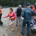 Сегодня в Москву доставили тела детей, утонувших в Карелии