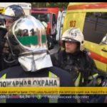 Спасатели озвучили причину возникновения пожара на Алтуфьевском шоссе (+кадры с места событий)
