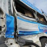 Столкновение автобуса и маршрутного такси: 9 человек пострадали, среди них 6-летняя девочка