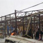 На заводе в Химках упала труба: один погиб рабочий и несколько ранены