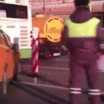 ДТП на Садовом: в результате столкновения легковушки и городского автобуса есть пострадавшие
