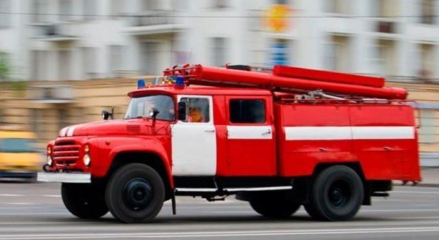 16 января в Мытищас произошел пожар, два человека в шиномонтаже на Волковском шоссе погибли
