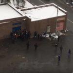 Драка в Раменском: разборки футбольных фанатов остановили только полицейские (ВИДЕО)