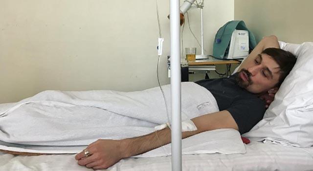 Дима билан попал в больницу с подозрением на пневонию