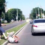 В столице избит гражданин Италии. Причина побоев — нарушение ПДД.