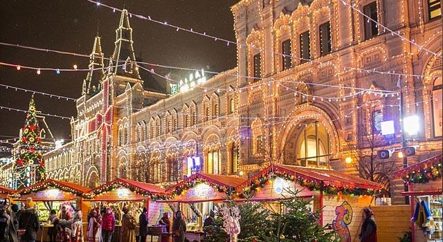 """16 декабря в Москве начал работать очередной грандиозный фестиваль """"Путешествие в Рождество"""""""
