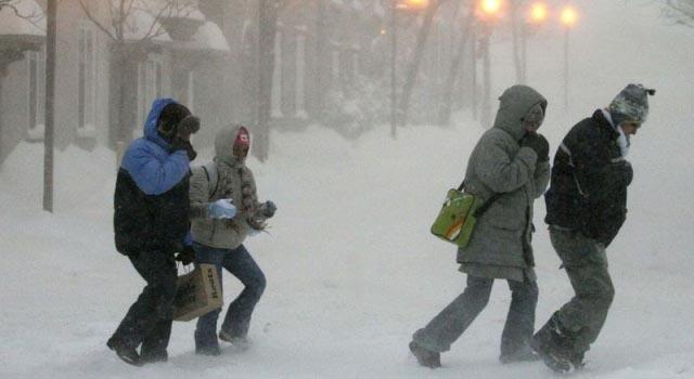 В Москве на Новый год объявлено штормовое предупреждение