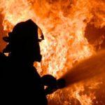 В центре Королёва пожар на складе площадью 1500 метров тушит 20 единиц техники и 70 человек