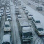 Вечер 5 декабря в Москве отмечен пробками в 9 баллов и скоростью 2 км/ч