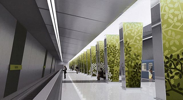 Станция метро Раменки фото