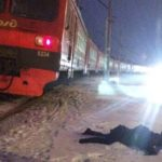 Утром 30 декабря женщина попала под колеса поезда в Щелково