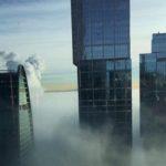Зимние чудеса: «радуга» на Рождество и густой туман при сильном морозе сегодня (фото)
