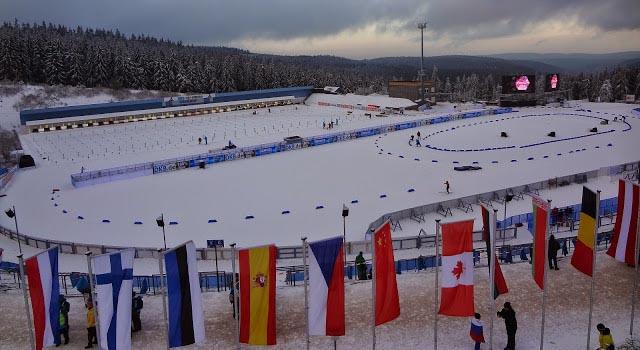 Оберхоф 5 января биатлон спринт результаты