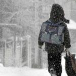Аномальные морозы стали причиной отмены уроков в подмосковных школах с 9 января