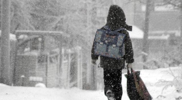 9 января 2017 года в школах подмосковного города клин из-за морозов отменены уроки в школах