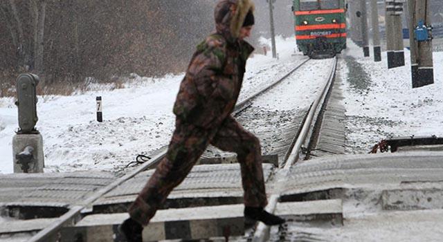 Сегодня, 3 января, около 18 часов электричка насмерть сбила мужчину в Одинцовском районе