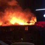 Пожар в ресторане «Тико» на Ярославском шоссе: один человек погиб, еще около 10 пострадали