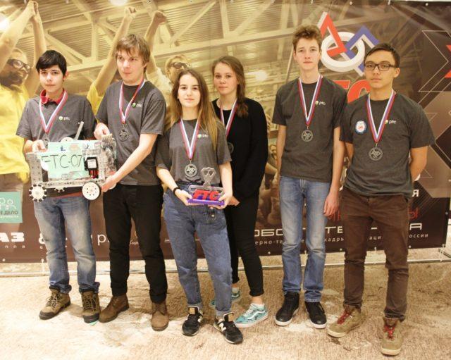 Ученики школы 1354 из Бутово стали призерами чемпионата России по робототехнике