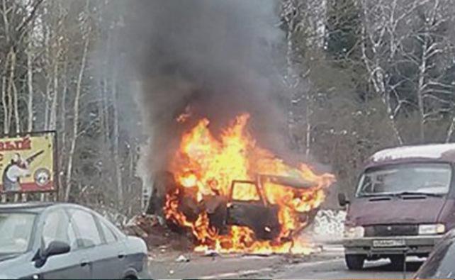 Сегодня на Варшавском шоссе в ТиНАО произошо страшное ДТП, погибло 9 человек