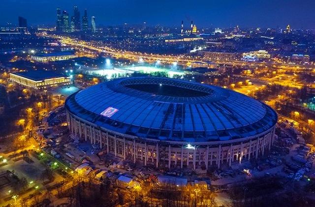 Реставрация арены Лужники идет к завершению