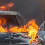 За одну ночь в ЮВАО сгорело сразу шесть авто