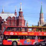 В Москве появятся дополнительные парковочные места для туристических автобусов